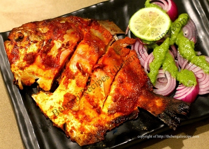 Fish Barbecue Indian Style