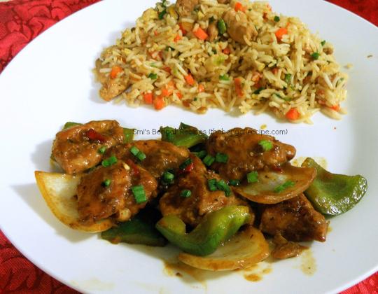 Calcutta tangra style chilli chicken mutton and chicken recipes bengali recipe of calcutta tangra style chilli chicken bengali chilli chicken recipes from kolkata china forumfinder Image collections