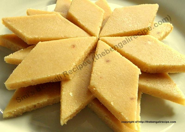 Kaju Katli or Indian sweet Kaju Barfi | Desserts and ...
